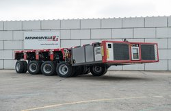 Neumeister also supplies the complete hydraulics for Self-Propelled Modular Transporter (SPMT).